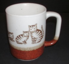 Lot of Kitties  and Mommy cat watching over her kitties Coffee Cup Mug - $6.92