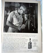 Jack Daniels Charcoal  Mellowed Drop By Drop Magazine Advertising Print ... - $5.99