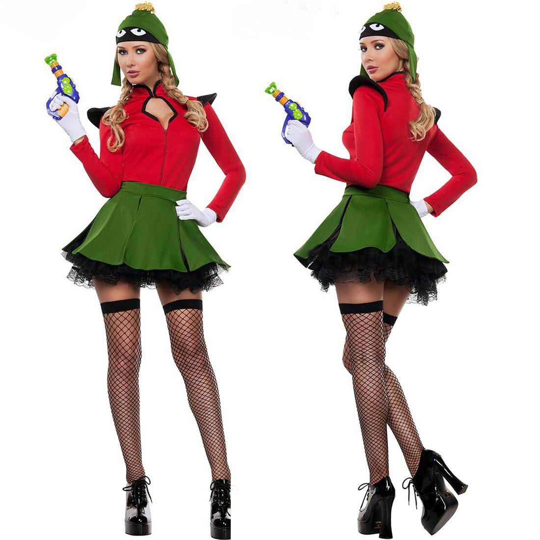 Halloween Animal Cosplay Frog Skirt Costumes with Hat