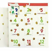 HUE Women's Days of Christmas No Show Liner Sock Gift Box, 12 Pairs Assorted O/s image 4