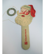 Coca-Cola Cardboard Santa Ring Game Vintage 1970s It's the Real Thing - $14.85