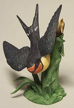 THE LENOX GARDEN BIRD COLLECTION Barn Swallow (1993 Fine Porcelain) - $49.45