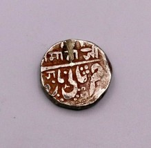 ANCIENT ANTIQUE OLD HANDMADE SOLID SILVER COIN MATAJI PRINT GINNY INDIA ... - $89.09