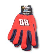 Dale Earnhardt Jr #88 Work NASCAR Knit Jersey Utility Gripping Adult Gloves - $8.98