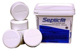 Septicfit Septic Chlorine Tablet - 6 Tablet Pail - 2 lbs