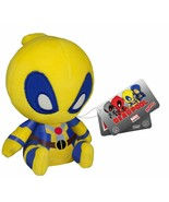 Funko Mopeez: Marvel - Yellow Deadpool Plush Figure new nwt - $12.38