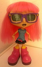 """2014 Spin Master Interactive Sounds,Lights Up Chatsters Gabby Pink Hair Doll 12"""" - $31.68"""