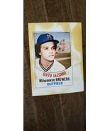 1977 HOSTESS TWINKIES FULL UNCUT CARD SIXTO LEZCANO BREWERS PADRES CARDI... - $7.99