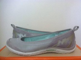 Merrell Enlighten Vex Aluminium Gray Women's Slip On Comfort Flats Oxfor... - $46.84