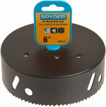 Spyder 600111 Rapid Core Eject Hole Saw, 6-Inch - $22.95