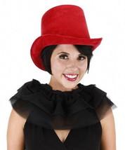 SteamPunk Dark Red Suede Deluxe Victorian Coachman's Hat NEW UNWORN - $19.34