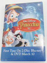HTF DISNEY PINOCCHIO 70TH ANNIVERSARY MOVIE RELEASE PIN -C1 - $8.99