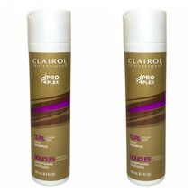 2 Clairol Professional Pro 4Plex Curl Color Safe Daily Shampoo 8.4 fl oz each - $34.65
