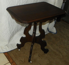 Mahogany Parlor Table Entry Table Center Table  (T316) - $399.00