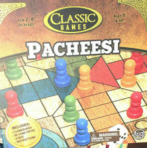 Classic Games Pacheesi 2-4 Players 6+ New Sealed - $16.61