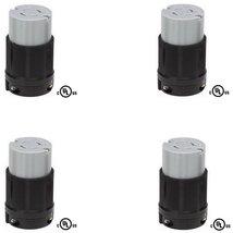NEMA L15-20R Locking Connector, 20A 250V, 3 (4) - $34.99