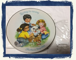 "VTG 1989 AVON ""Loving is Caring"" Mother's Day Fine Porcelain Plate 5""~NIB/NOS - $8.08"