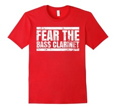 TinTin Shirt - Fear The Bass Clarinet Band T-Shirt Men - $19.95+