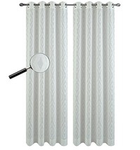 Urbanest 54-inch by 63-inch Portland Set of 2 Sheer Curtain Drapery Pane... - $25.73