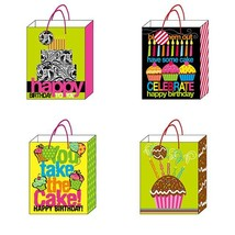 7 1/2W x 9H x 4G Medium You Take The Cake Matte Gift Bag With Hologram E... - $211.18