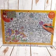 Eurographics Color Me Puzzle Hidden Butterflies 300 pc OO - $18.67