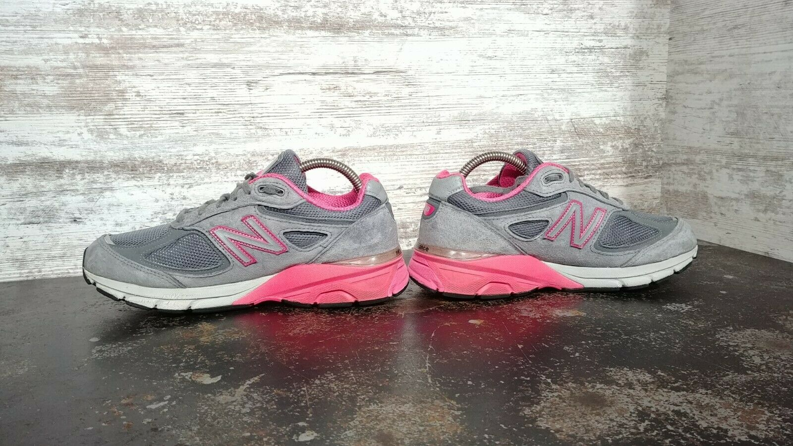 Womens New Balance 990 V3 Running Shoes SZ 7 D Wide Used Sneakers Trainers image 5