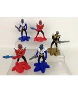 Power Rangers Super Samurai McDonalds Lot of 5 Action Figures Toys 2012 - $8.86