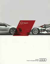 2014 Audi SPORT Models US brochure catalog R8 S4 S5 S6 S7 S8 RS5 RS7 TTS 14 - $15.00