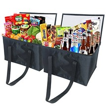 Trepot Insulated Reusable Grocery Bag | Large Tote Bag For Picnics,Trips... - $26.38