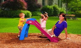 Little Tikes First Slide, Red/Blue  Outdoor Kid Toy First Slide - $36.38