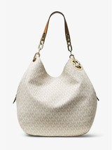 Michael Kors Handbag Fulton Large Logo Signature Shoulder Bag, Tote Satc... - $249.99