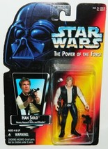 Star Wars Power of the Force Han Solo Figure 1995 KENNER #69577 Red Card MIB BF - $6.89