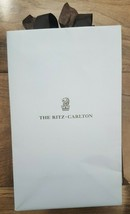 "Ritz Carlton - Small Paper Shopping Gift Bag 8.5"" x 5.25"" x 3.25"" - $9.90"