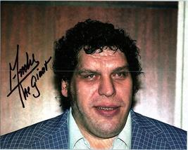 ANDRE THE GIANT  Authentic Autographed Hand Signed Photo w/ COA -324 - $145.00