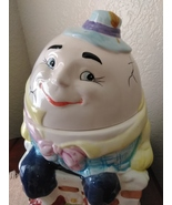 Vintage Bico China Humpty Dumpty Sat On A Wall Cookie Jar - $50.00