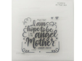 Close to My Heart All That I Am Clear Acrylic Stamp Set #CC42014 - $9.99