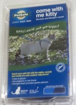 PetSafe COME WITH ME KITTY Cat Harness & Bungee Leash Royal  & Navy M OR L - $14.99