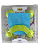 Post It Note Pop Up Dispenser 90 Notes Included It Rocks It Spins It Dis... - $9.99