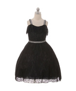 Black Fluttery Ruffles Cold Shoulders Lace Rhinestone Slim Strap Matchin... - $44.00+