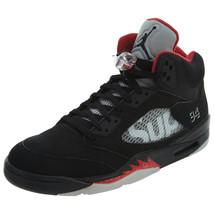 689fcc686605bb Air Jordan Mens 5 Retro Basketball Shoes 824371-001 -  935.98