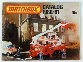 Vintage 1980/81 Matchbox Lesney Collector's Toy Dealer Catalog Booklet - $22.77