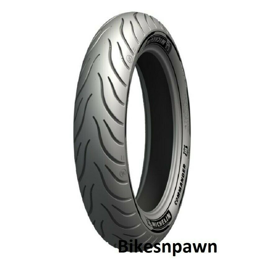 Michelin Commander III Touring 130/80-17 Front Motorcycle 2X Life Tire 65H