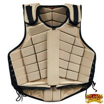 Hilason Adult Safety Equestrian Eventing Protective Protection Vest Tan U-V132 - $62.99