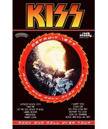 KISS Band 1977 Rock And Roll Over Tour Stand-Up Display - Rock Music Col... - $15.99