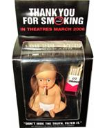 2006 THANK YOU FOR SMOKING Movie Promo Cigarette Baby Ceramic Incense Bu... - $29.99