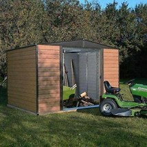 Large Storage Shed Garden Outdoor 10 X 8 ft Woodvale Metal Shed Lockable - $874.57