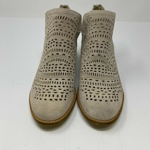 Earth Women Size 8.5 Wyoming Wonder Cream 603416W-250 Leather Ankle Bootie NEW - $59.37