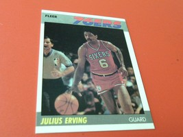 1987   JULIUS  ERVING   FLEER   76ers  BASKETBALL  # 35    MINT / MINT +... - $24.99