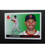 2020 Topps Archives Mini #55M-48 J.D. Martinez Boston Red Sox Baseball C... - $11.99