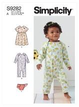 Simplicity Babies Knit Dress, Romper & Diaper Cover-XS-S-M-L-XL - $22.81